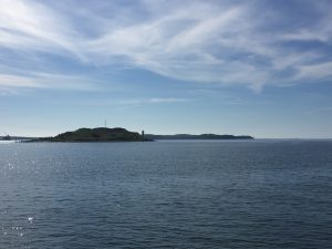 Georges Island, McNab's Island, and Halifax Harbour, August 2016