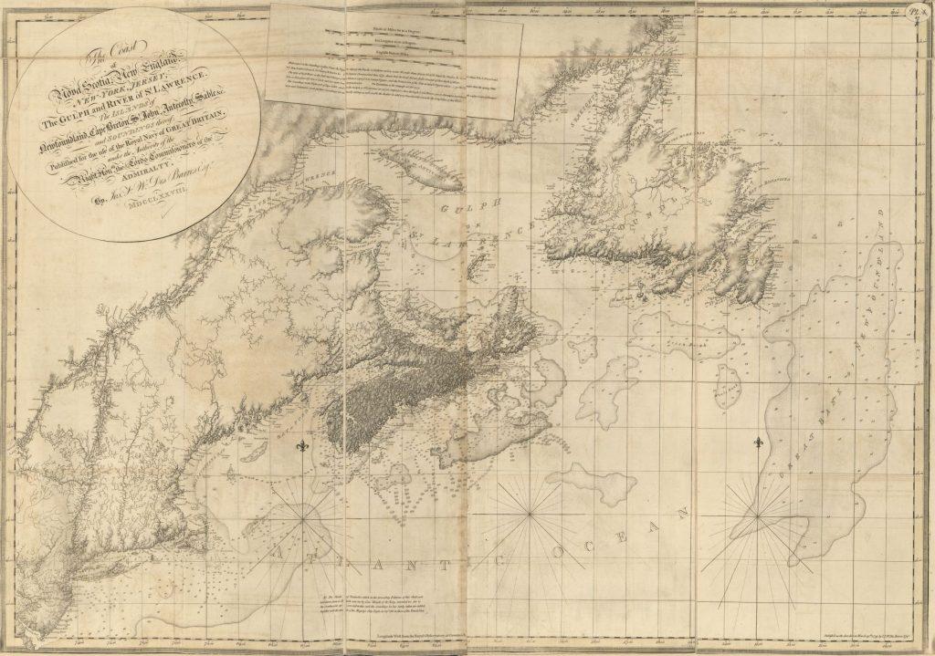 J.F.W. Des Barres for The Atlantic Neptune (1778)