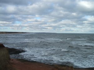 Cavendish Beach, PEI National Park (December 2010)