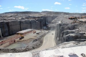 Muskrat Falls Generating Station under construction (copyright Nalco)