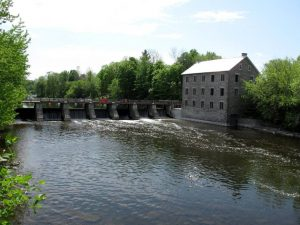 Rideau river at Manotick Mill. Source: Roy MacGregor / The Globe and Mail