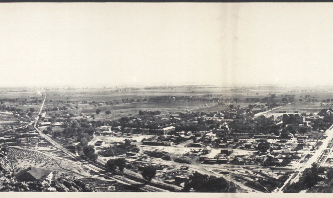 A view of San Pablo, the site of ASU Tempe Campus, c1908. LOC 6a16978u
