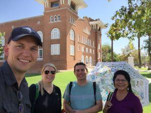 HST580 Group 1 site visit at Phoenix Indian School