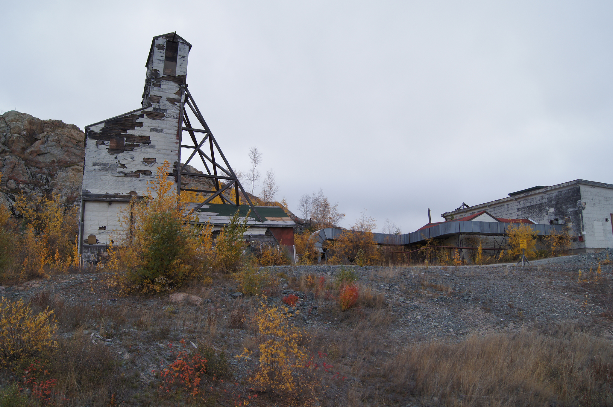 """Giant Mine, Yellowknife"" by Allan Farrell"