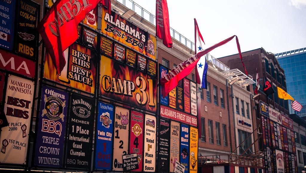 Ottawa Ribfest BBQ menus, https://www.flickr.com/photos/michaelnugent/7409895582