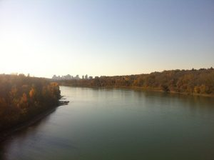 "Today's ""Ribbon of Green"", City of Edmonton. Personal photo, William Van Arragon."