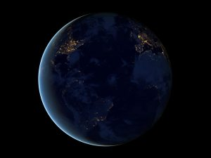 """The Black Marble"" NASA, 2012"