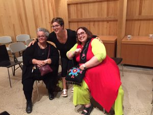 Conferring with Experts. People: Catherine Tammaro, Katie Labelle, Carolyn Podruchny