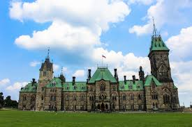 East Block of Canadian Parliament, where the Department of External Affairs was located for many decades.